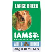 Iams Adult Dry Dog Food Large Breed Chicken