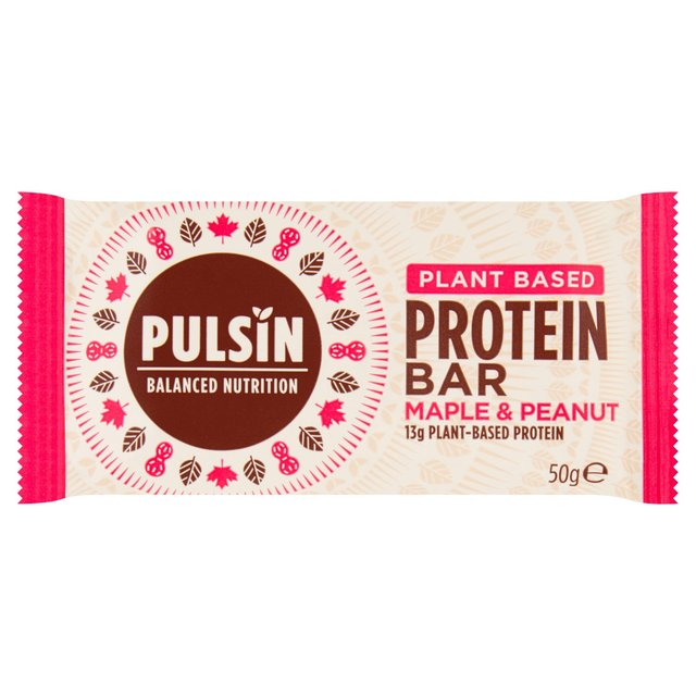 Pulsin Maple & Peanut Protein Booster Snack Bar