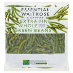 Essential Waitrose Frozen Extra Fine Whole Green Beans