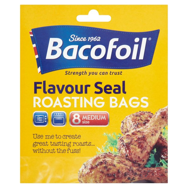 Bacofoil Roasting Bag With Tie Closure 250x380mm