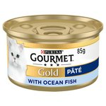 Gourmet Gold Cat Food Pate with Ocean Fish