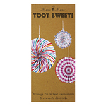 Toot Sweet Pin Wheel Decorations