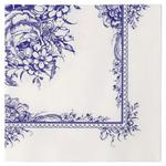 Talking Tables Blue Porcelain 3ply Paper Napkins, 33cm