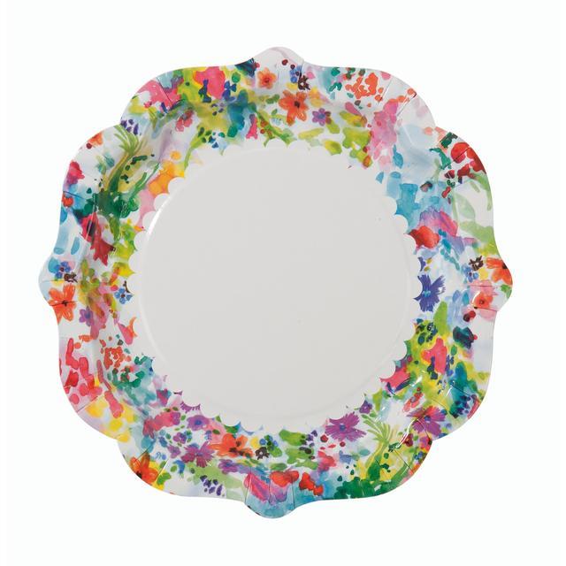 Floral Fiesta Paper Plates ...  sc 1 st  Ocado & Floral Fiesta Paper Plates 12 per pack from Ocado