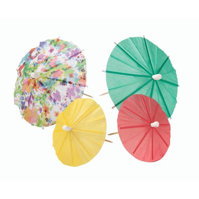Floral Fiesta Cocktail Umbrella ...