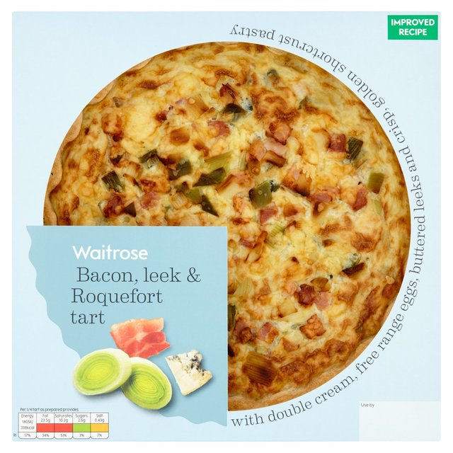 Bacon, Leek & Roquefort Tart Waitrose