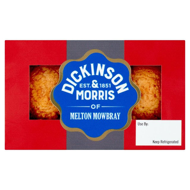 Dickinson & Morris Melton Mowbray Snack Pork Pie