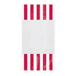Striped Party Bag Red