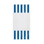 Striped Party Bag Blue
