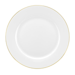 Royal Worcester Serendipity Dinner Plates 27cm, Gold Rim