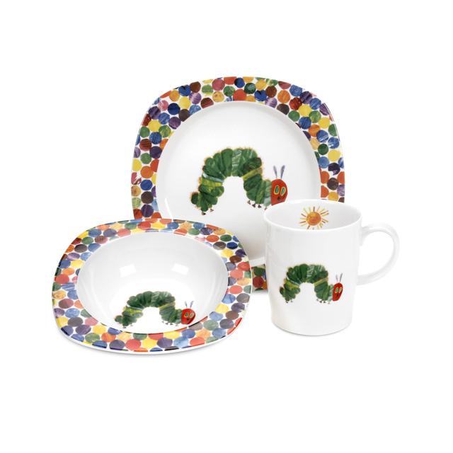The Very Hungry Caterpillar Dinner Set, 3pc from Ocado