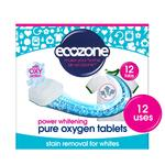 Ecozone Stain Remover & Whitener for Whites Oxy Action 12 Tablets