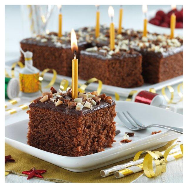 Baker Street Chocolate Celebration Cake 20 Servings 1kg