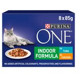 Purina One Indoor Cat Food Tuna & Chicken