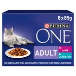 Purina ONE Adult Cat Food Fish & Lamb