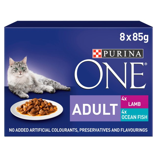 Purina One Senior Pouch Cat Food
