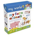 My World My Farm Animals Jigsaw Puzzles, 18mnths+