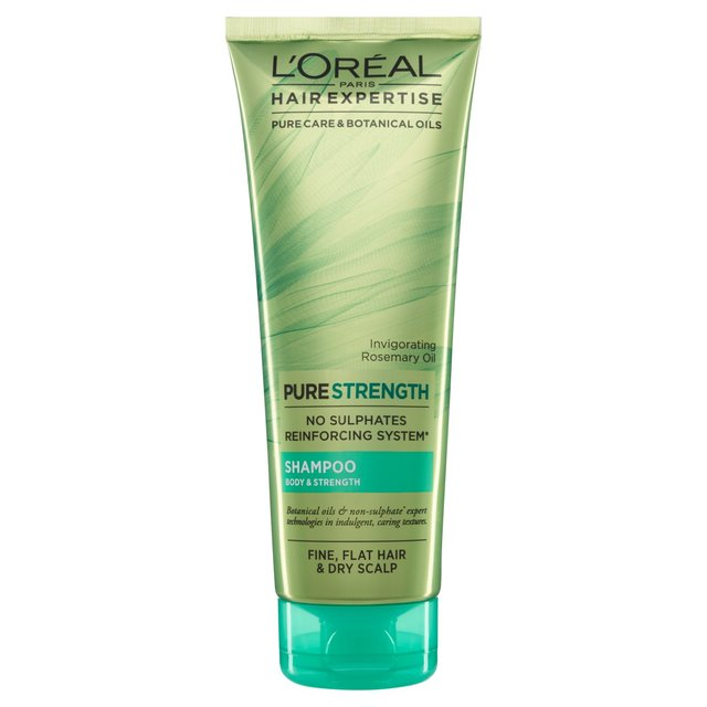 L'Oreal Hair Expertise Everstrong Shampoo Body & Strength 250ml ...