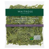 Watercress, Rocket & Spinach Salad Waitrose