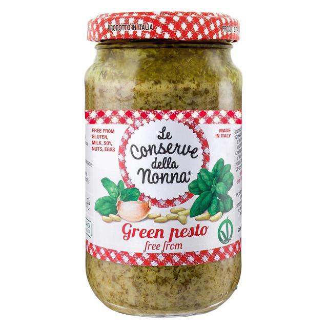 Ocado Le Conserve Della Nonna Dairy Gluten Free Green Pesto Sauce Gproduct Information