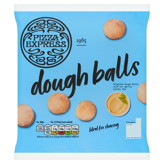 Pizza Express Dough Balls Ocado