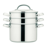 Prestige 3 Tier Stainless Steel Steamer