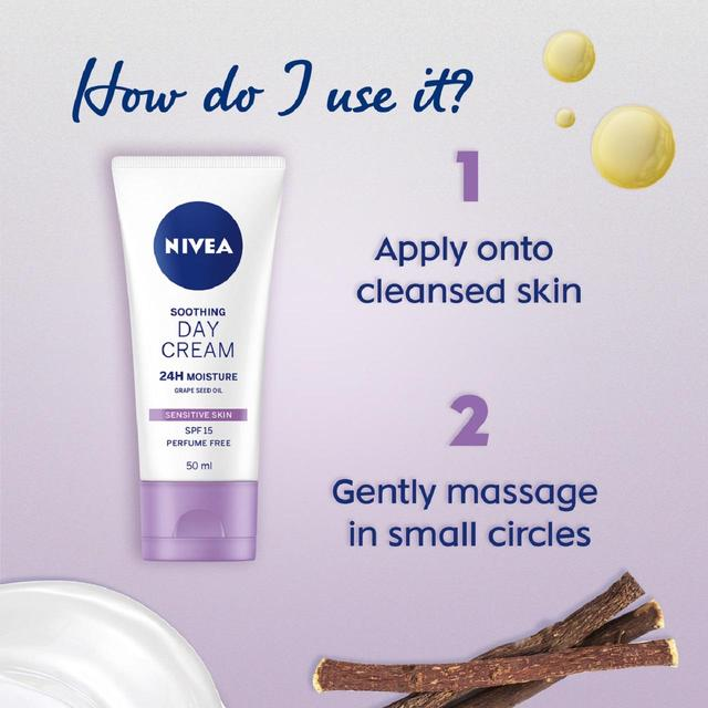 nivea day cream with spf