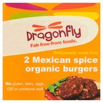 Dragonfly Gluten Free Organic Mexican Spice Burger