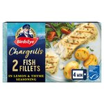 Birds Eye Inspirations 2 Fish Chargrills With Lemon & Herbs Frozen