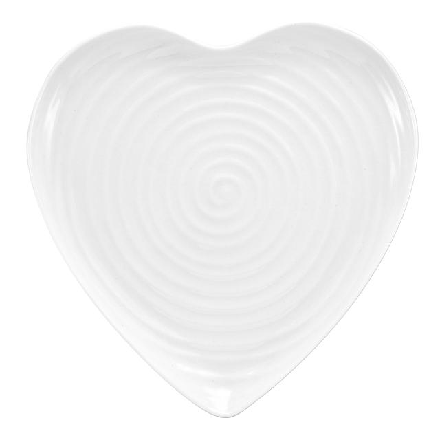 Sophie Conran for Portmeirion Large Heart Plate 28cm, White