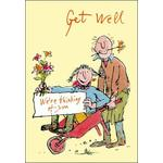 Quentin Blake Get Well Card