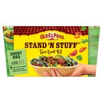 Old El Paso Stand 'N' Stuff Soft Taco Kit Smokey BBQ