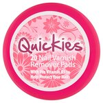 Quickies Nail Varnish Remover Pads