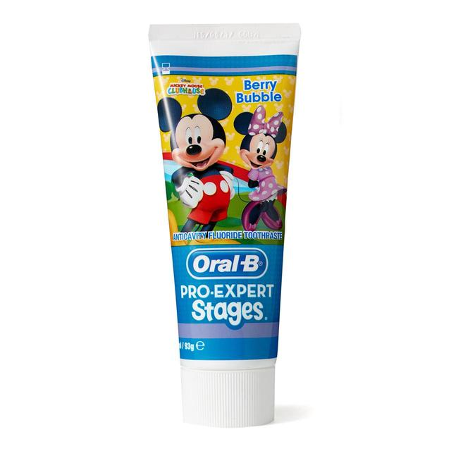 Oral-B Toothpaste Kids Stages Berry Bubble