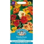 Mr Fothergills Seeds - Nasturtium Jewel Mixed