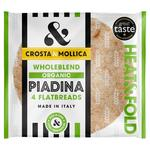 Crosta & Mollica Piada Flatbreads Wholeblend