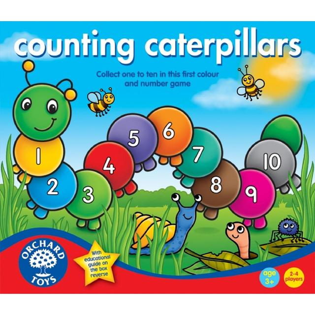 Orchard Toys Counting Caterpillars Game 3+ from Ocado