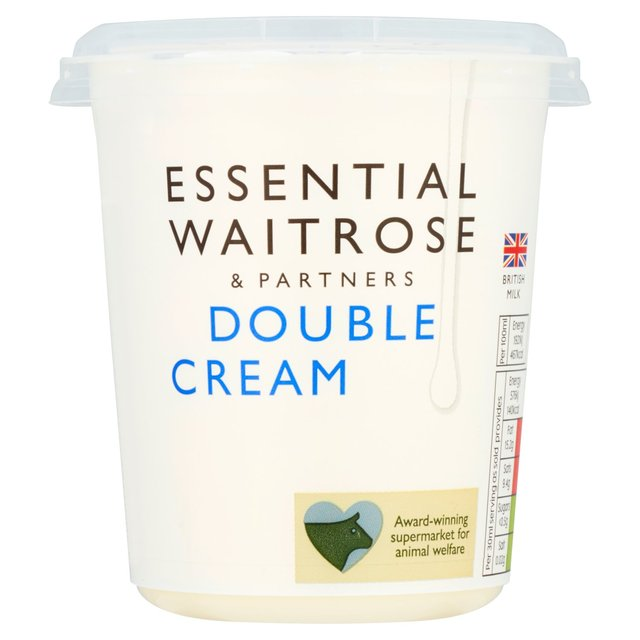 Double Cream essential Waitrose