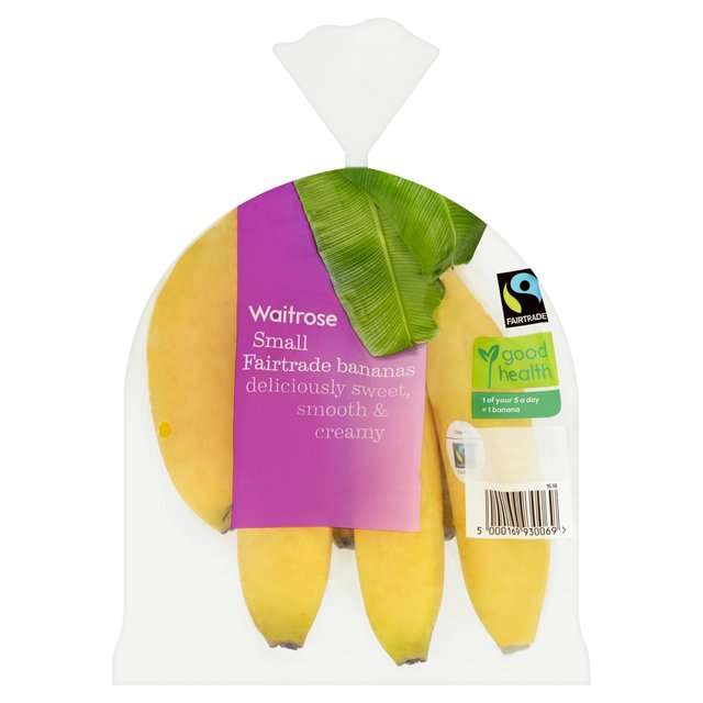 Waitrose Fairtrade Small Bananas