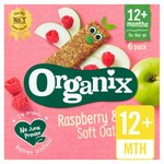 Organix Goodies Raspberry & Apple Oaty bars