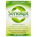 Senokot Natural Senna Tablets