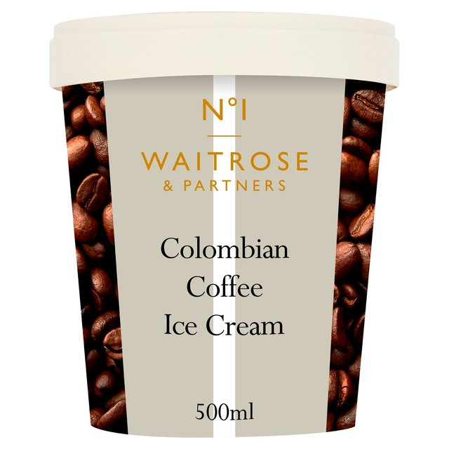 waitrose colombian coffee ice cream 500ml from ocado. Black Bedroom Furniture Sets. Home Design Ideas