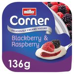 Muller Corner Yoghurt with Blackberry & Raspberry Compote