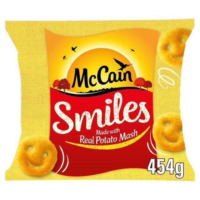 McCain Smiles Frozen | Ocado