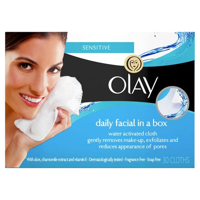 Olay Essentials Daily Facials Cleanser Refill Pack Sensitive Skin