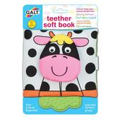 Galt Teether Soft Book Farm, 0mths+