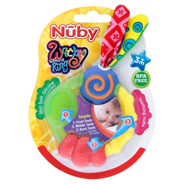 Nuby Wacky Teething Ring