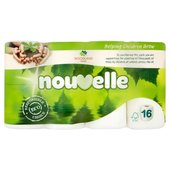 Nouvelle Soft Toilet Tissue White