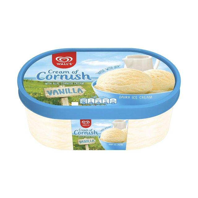 Wall's Cream Of Cornish Vanilla Ice Cream Dessert 1L from ...