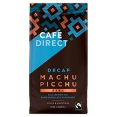Cafedirect Fairtrade Decaffeinated Coffee